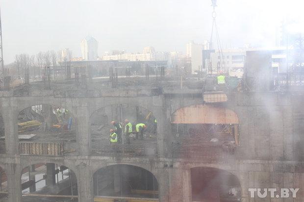Госстройнадзор приостановил строительство дома в Маяке Минска