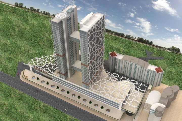 Строительство Немига Молл