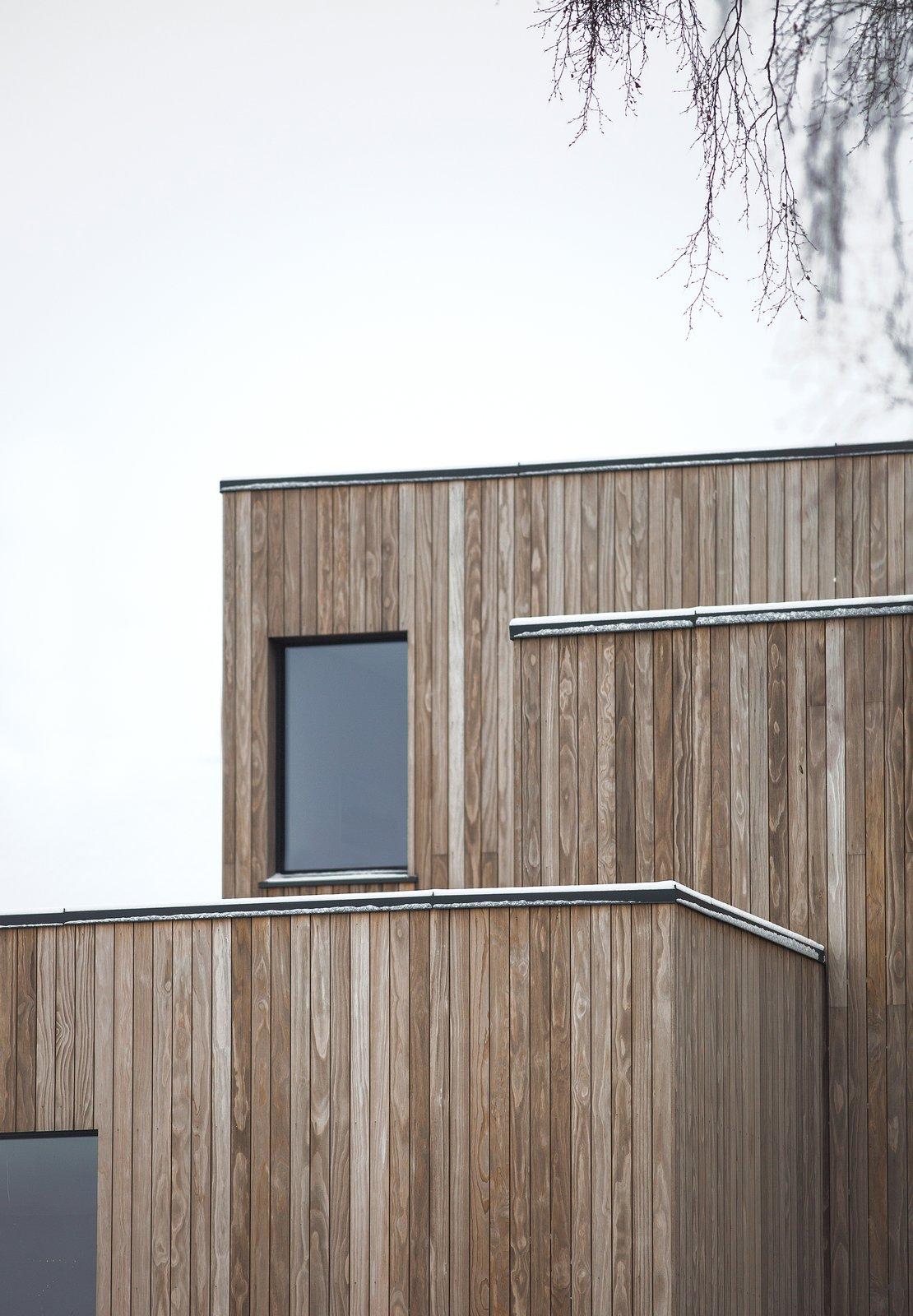 Деревянный экстерьер дома