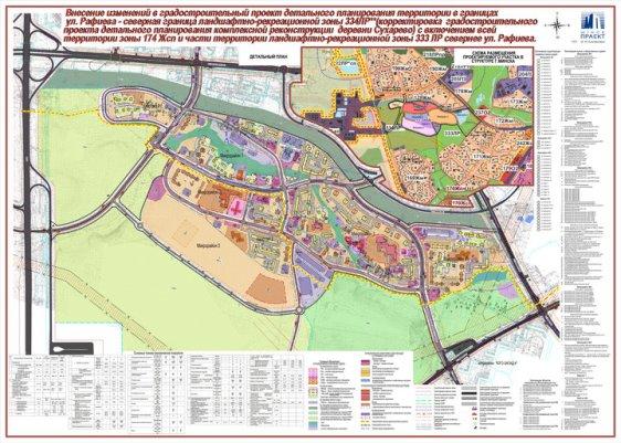 План строительства в Сухарево