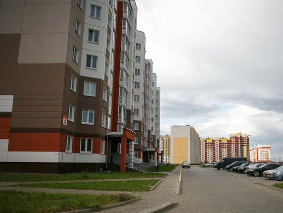 Застройка Долгиновского тракта в Минске