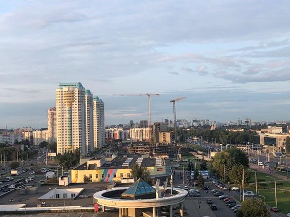 Новые улицы в Минске