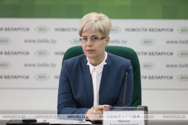 заместитель председателя комитета строительства и инвестиций Мингорисполкома Ирина Гонтарева