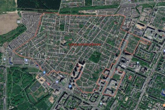 Сельхозпоселок в Советском районе Минска